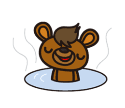 HAPITORY BEAR sticker #1167436