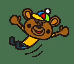 HAPITORY BEAR sticker #1167437