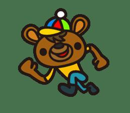 HAPITORY BEAR sticker #1167438
