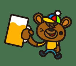 HAPITORY BEAR sticker #1167439