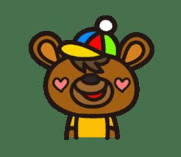 HAPITORY BEAR sticker #1167442