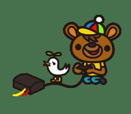 HAPITORY BEAR sticker #1167443