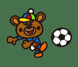 HAPITORY BEAR sticker #1167445