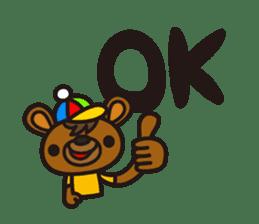 HAPITORY BEAR sticker #1167446