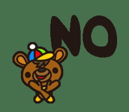 HAPITORY BEAR sticker #1167447