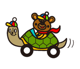HAPITORY BEAR sticker #1167456