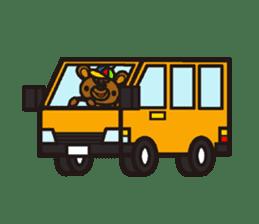 HAPITORY BEAR sticker #1167458