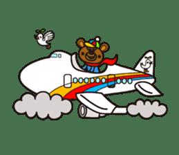 HAPITORY BEAR sticker #1167459