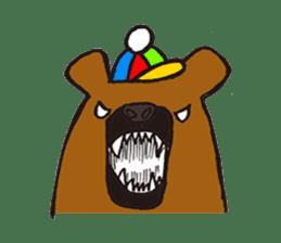 HAPITORY BEAR sticker #1167461