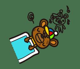 HAPITORY BEAR sticker #1167464