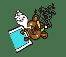 HAPITORY BEAR sticker #1167465