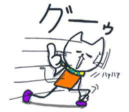 SECHIGARA-Three brothers cat sticker sticker #1169640
