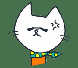 SECHIGARA-Three brothers cat sticker sticker #1169650