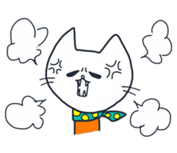 SECHIGARA-Three brothers cat sticker sticker #1169651