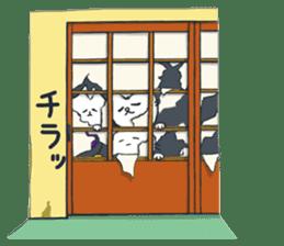 SECHIGARA-Three brothers cat sticker sticker #1169655