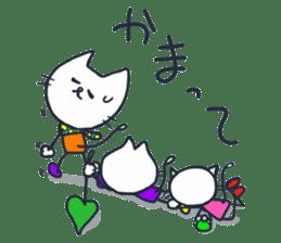 SECHIGARA-Three brothers cat sticker sticker #1169658
