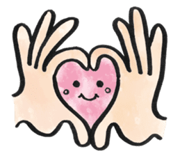 Cute Heart sticker #1170087