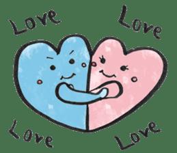 Cute Heart sticker #1170097