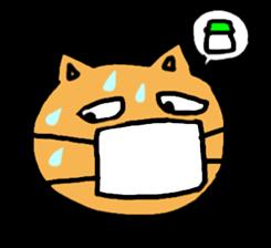 Cemetery tonight cat Yamada sticker #1170991