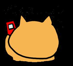 Cemetery tonight cat Yamada sticker #1170995