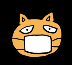 Cemetery tonight cat Yamada sticker #1170999