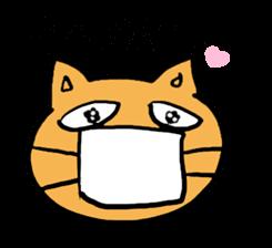 Cemetery tonight cat Yamada sticker #1171002