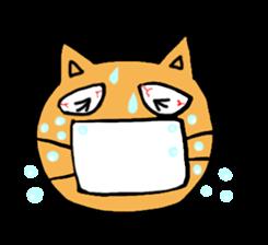 Cemetery tonight cat Yamada sticker #1171006