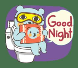 BlueDumb Poo Time [EN] sticker #1171028