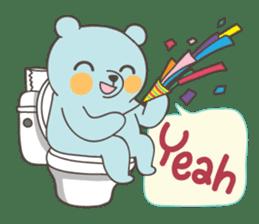 BlueDumb Poo Time [EN] sticker #1171029