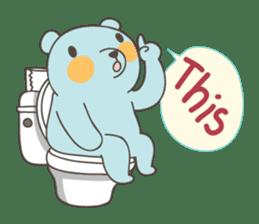 BlueDumb Poo Time [EN] sticker #1171031