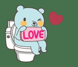 BlueDumb Poo Time [EN] sticker #1171032