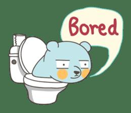 BlueDumb Poo Time [EN] sticker #1171036