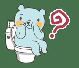BlueDumb Poo Time [EN] sticker #1171041