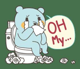 BlueDumb Poo Time [EN] sticker #1171046