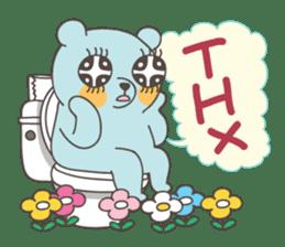 BlueDumb Poo Time [EN] sticker #1171051