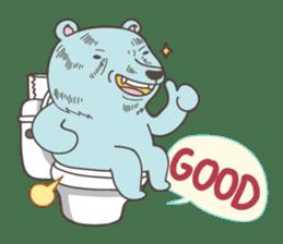 BlueDumb Poo Time [EN] sticker #1171057