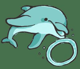 Dolphin Sticker sticker #1174550