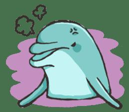 Dolphin Sticker sticker #1174557