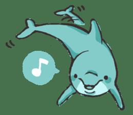 Dolphin Sticker sticker #1174558