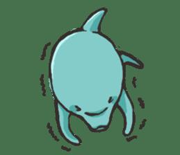 Dolphin Sticker sticker #1174564