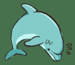 Dolphin Sticker sticker #1174566