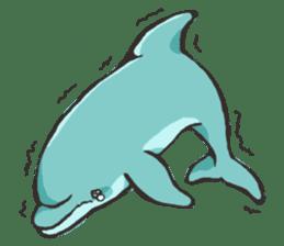 Dolphin Sticker sticker #1174569