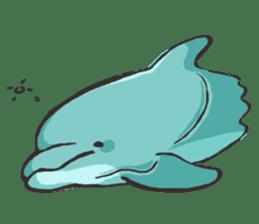 Dolphin Sticker sticker #1174580