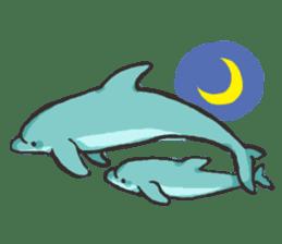 Dolphin Sticker sticker #1174581