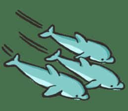 Dolphin Sticker sticker #1174583