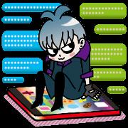 สติ๊กเกอร์ไลน์ Visual-kei-yakyubuin-Reiya