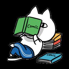 DAME OTAKU Sticker