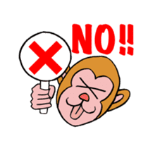 En-glish Monkey(enmon) sticker #1174987