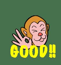 En-glish Monkey(enmon) sticker #1174988