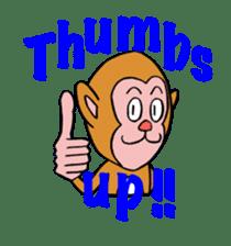 En-glish Monkey(enmon) sticker #1174992